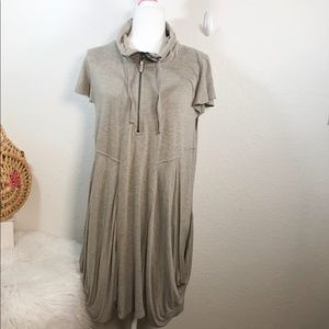 Kensie zip up sweatshirt dress Size XL